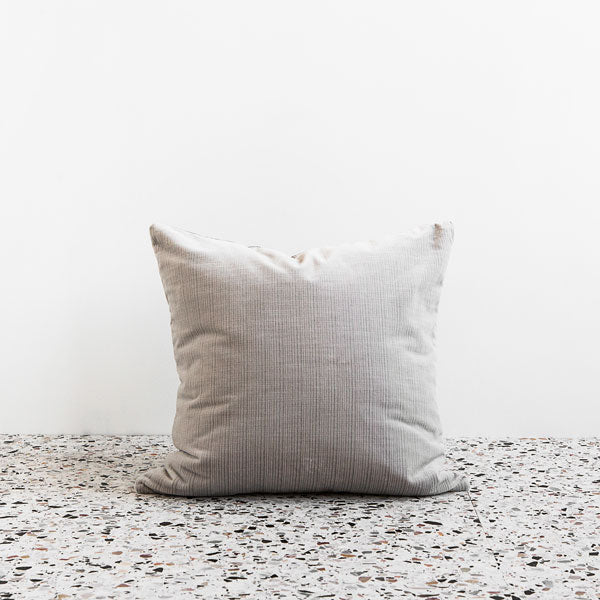 Velvet Down Cushion - Cloud