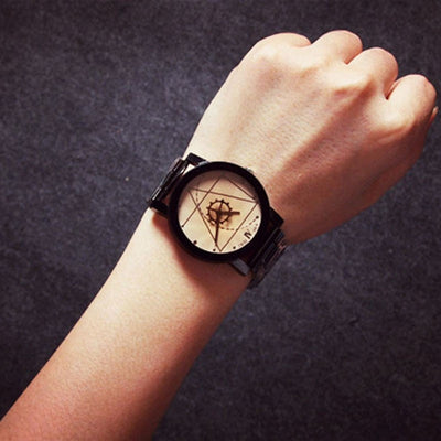 "Steampunk Fan Quartz Watches Steampunk ""Jonas"" Luxury Unisex Quartz Analog Watch"