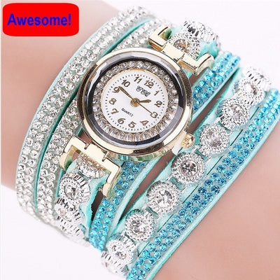 manner watches sweet chain in wrap mint bracelet timely green accessories twist sincerely watch boutique