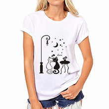T-shirt tendance logo chat