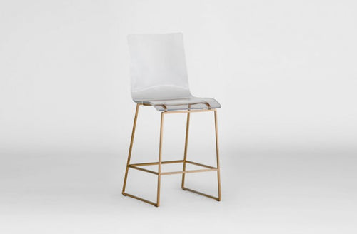 Clear Acrylic Counter Stool