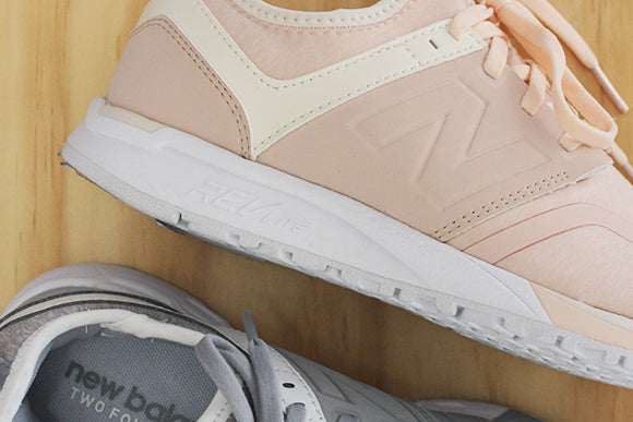 New Balance 247 Jersey, in Pink and Grey
