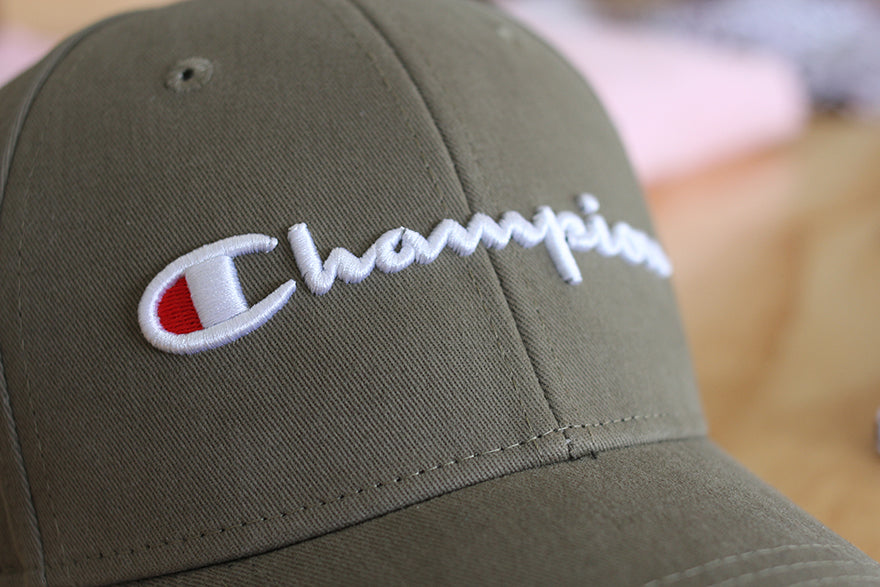 champion khaki hat