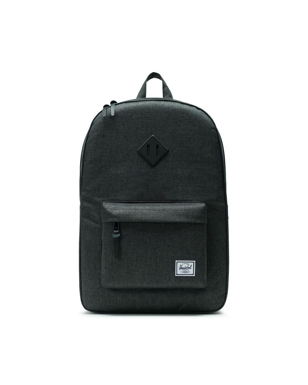 Heritage Backpack - Black Crosshatch/Black