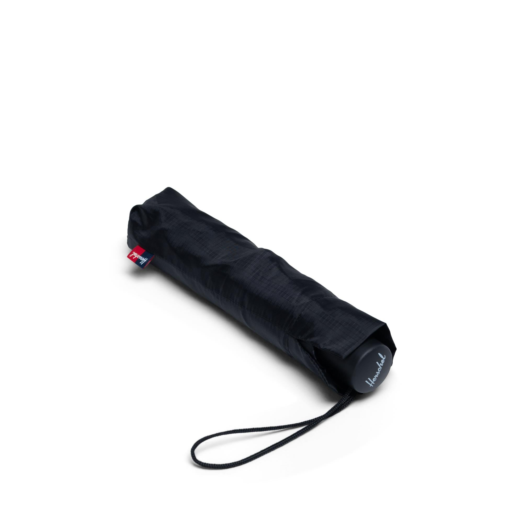 Voyage Compact Umbrella - Black/Black