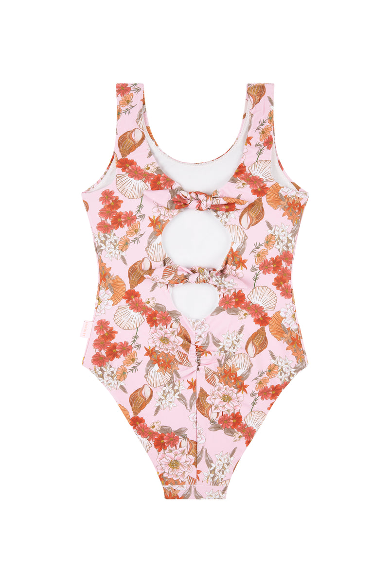 Seafolly Kids Sea Shells Tank - Shell Pink