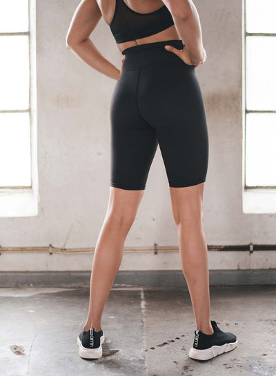 Aim'n Aim High Biker Short - Black | Shop AIM'N at GOALS NZ