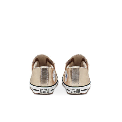 Infant Chuck Taylor All Star Cribster Mid - Metallic Gold