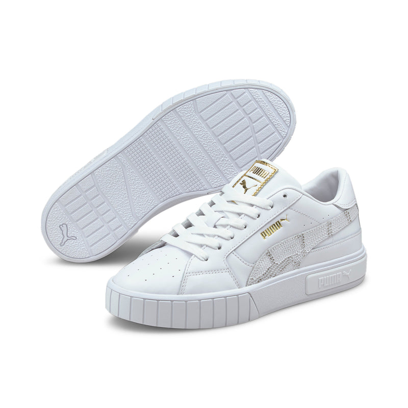 Puma Womens Cali Star - Snake/White