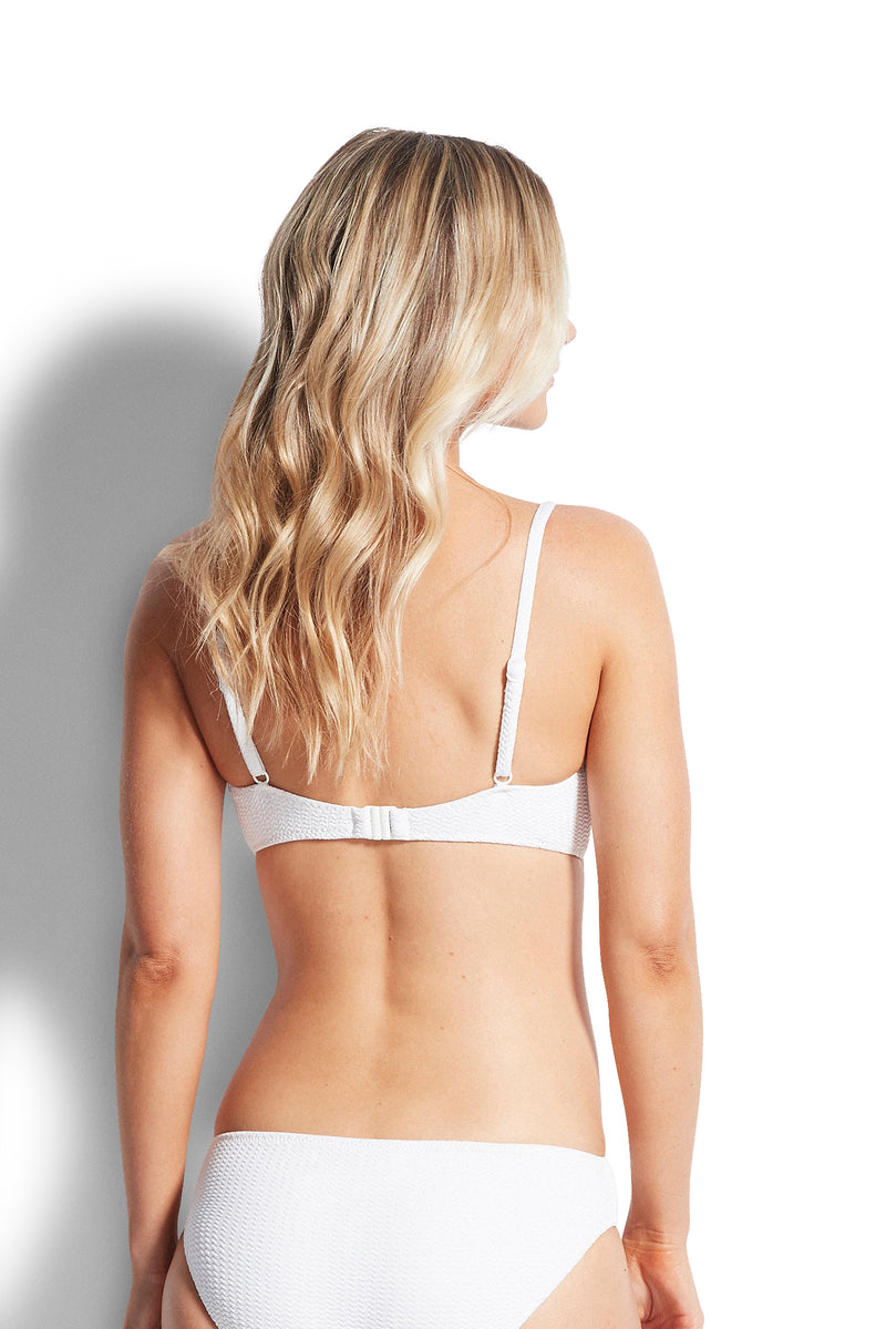Seafolly Sea Dive Bralette - White