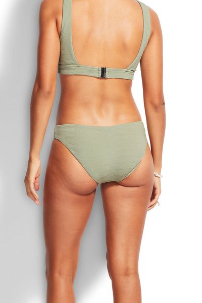 Seafolly Seaside Soiree Hipster Pant - Thyme