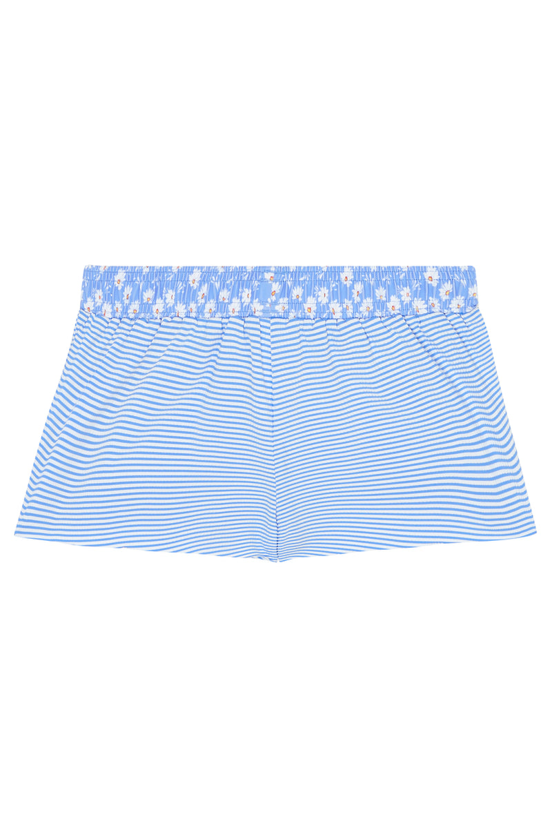 Seafolly Kids Pool Party Boardshort - Summer Blue