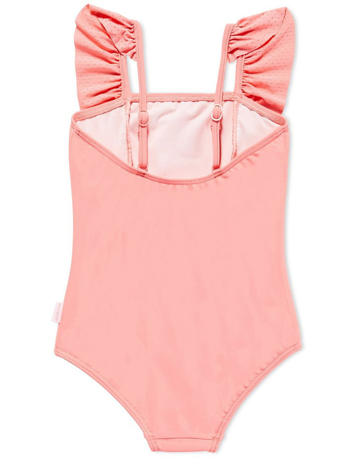 Seafolly Kids Frill Tank - Sunkist Pink | Shop Seafolly at GOALS in Arrowtown, NZ