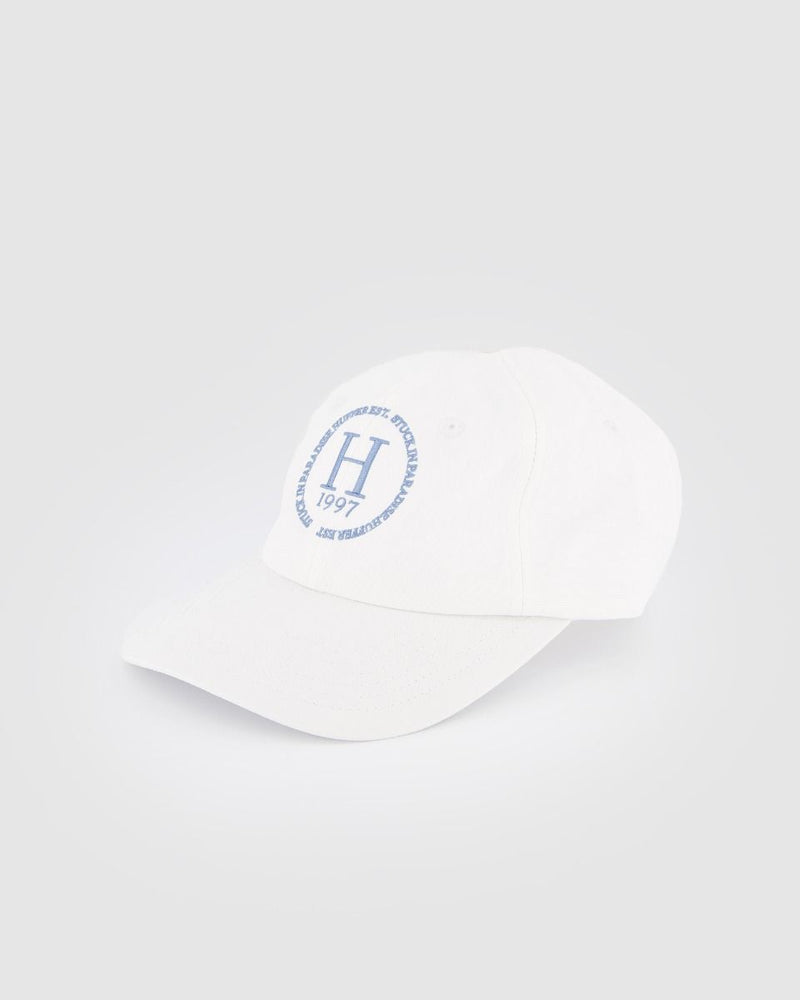 Huffer Ace Cap/All Rounder - White