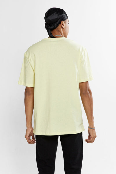 Mens Rebound Lightweight Tee - Lemon Glacier