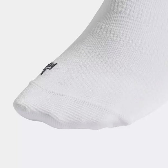Alphaskin Ultralight No Show Socks - White