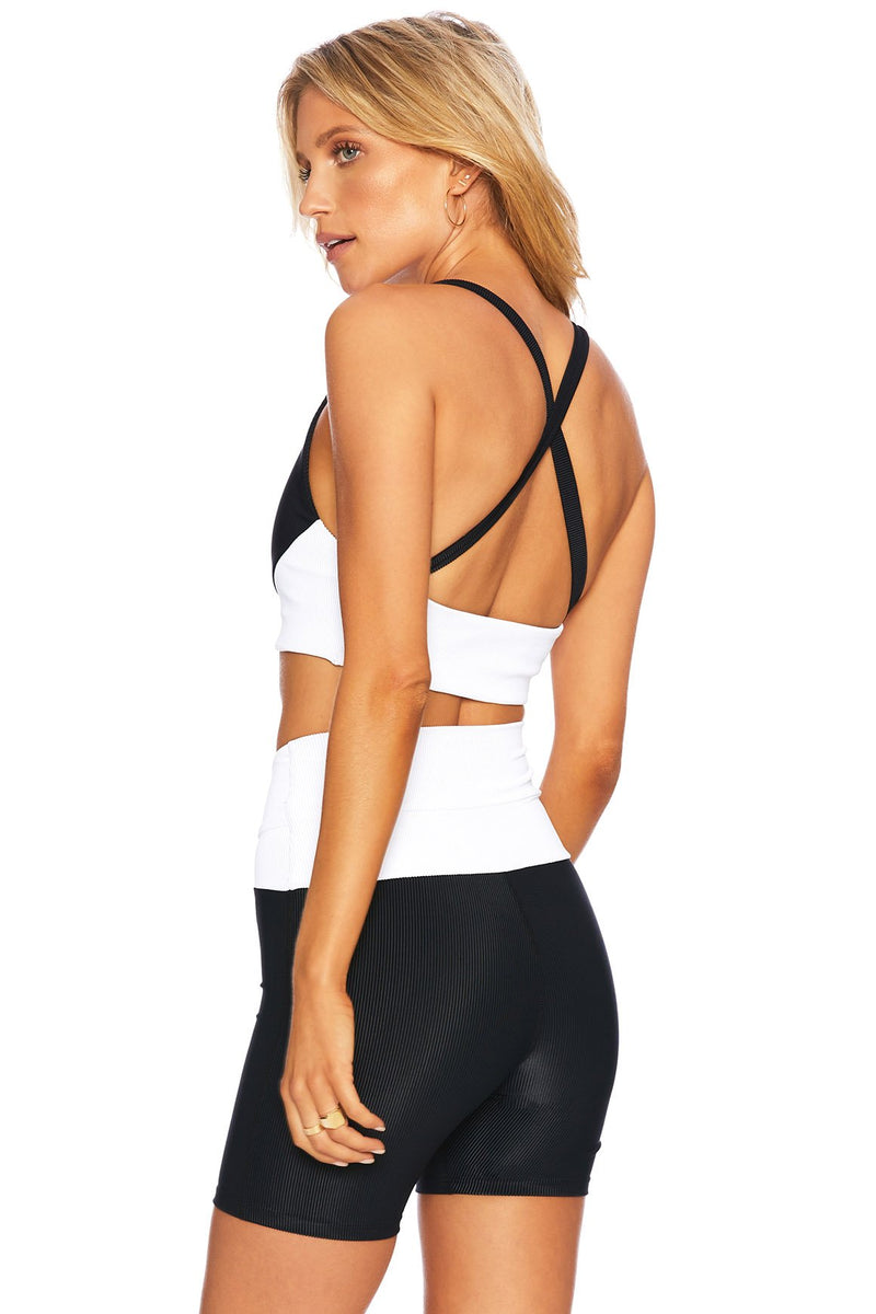 Norah Top - Black/White