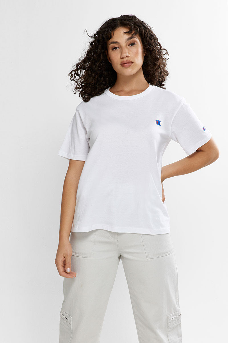 Womens Rebound Lightweight Tee - White
