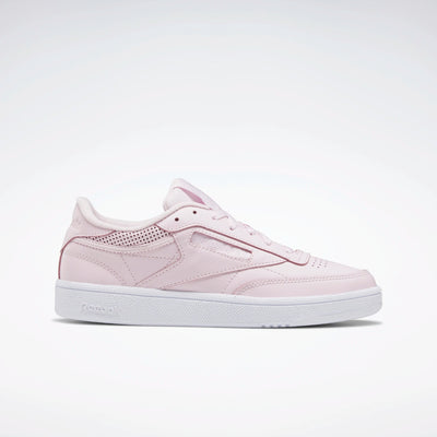 Reebok Women's Club C 85 - Pink/White/Pink | Shop Reebok at GOALS in Arrowtown, NZ