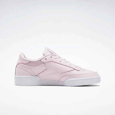 Reebok Womens Club C 85 - Pink/White/Pink