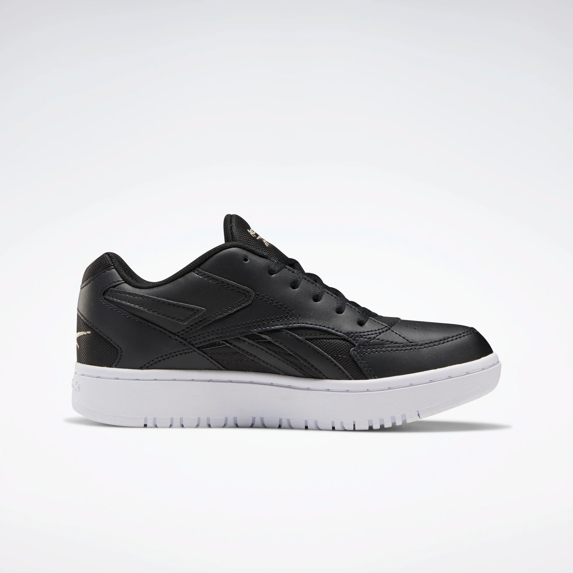 Reebok Court Double Mix Shoes - Black | Shop Reebok at GOALS in Arrowtown, NZ