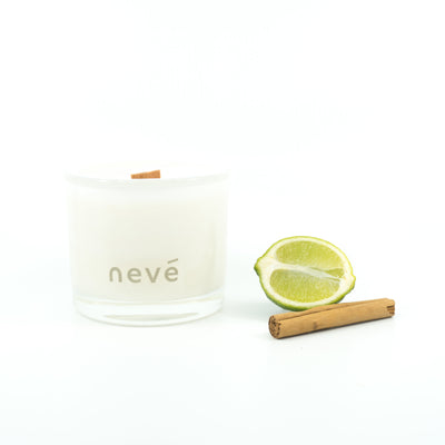 Nevé Candle - Kowhai Blossom & Lime | Buy Scented candles at GOALS