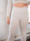 Aim'n Ribbed Seamless Tight 7/8 - Beige