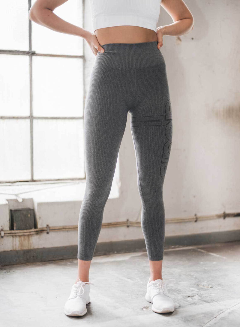 Aim'n Ribbed Seamless Tight Full Length - Grey