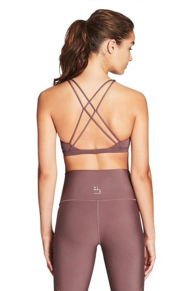 Nimble Flow And Go Bra - Rose Taupe