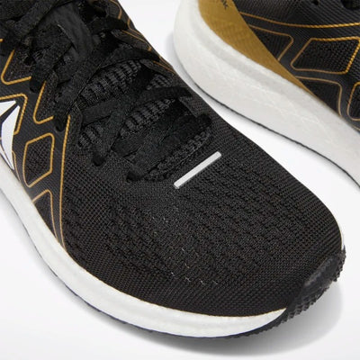 Reebok Forever Floatride Energy Shoes - Black/White/GoldMet.