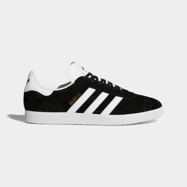 Gazelle Sneakers - Black/White/Gold | Shop Adidas Originals Online NZ