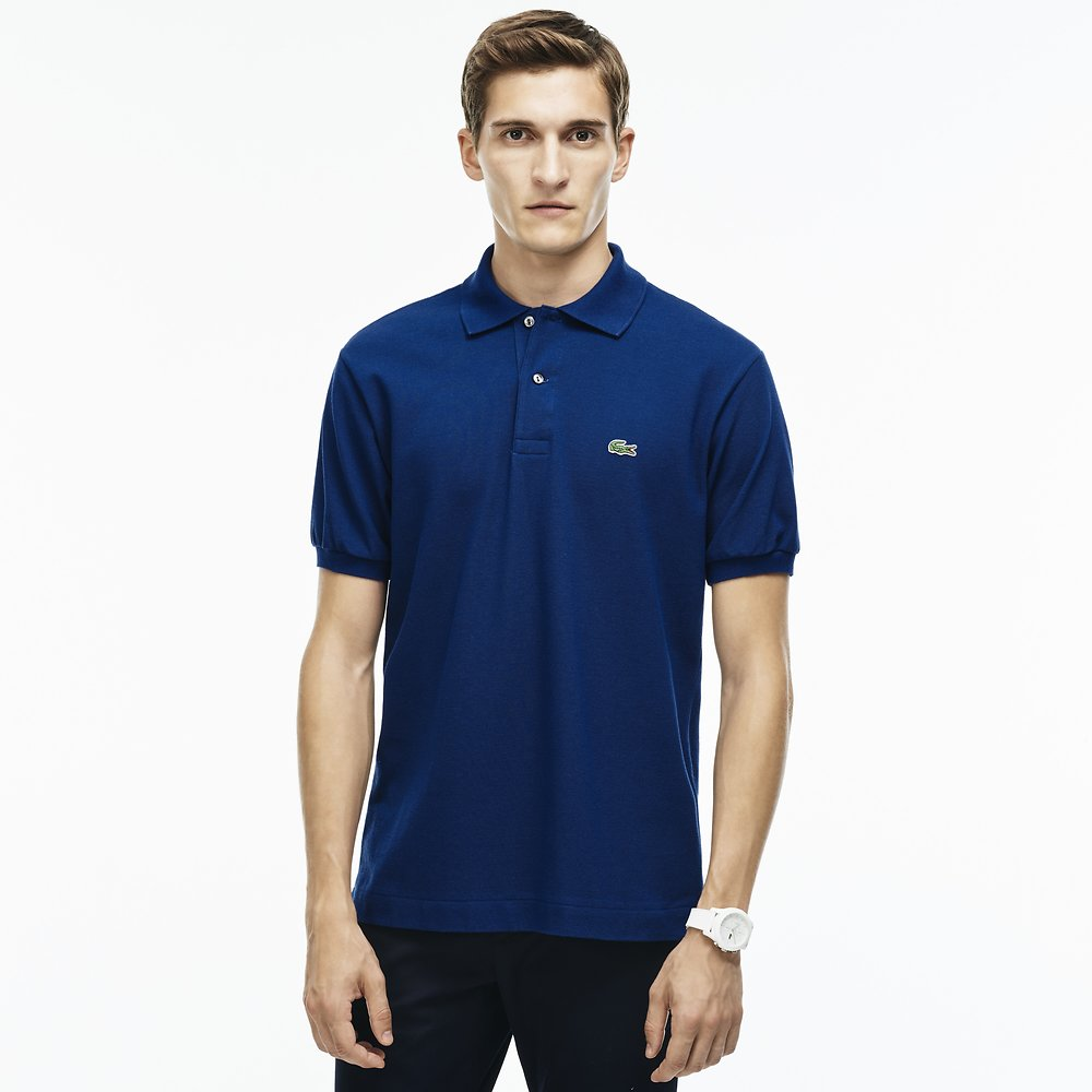 Mens L1212 Classic Polo - Inkwell | Shop Lacoste Online at GOALS