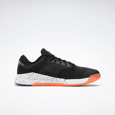 Reebok Men's Nano 9.0 Shoe Black/Orange | Shop Reebok at GOALS NZ