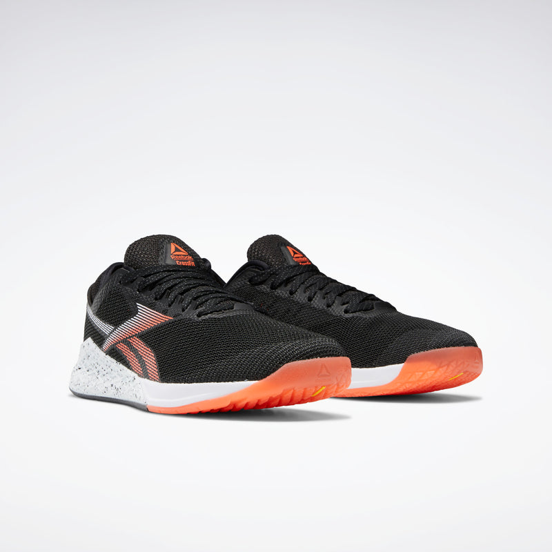 Reebok Mens Nano 9.0 Shoe - Black/Orange