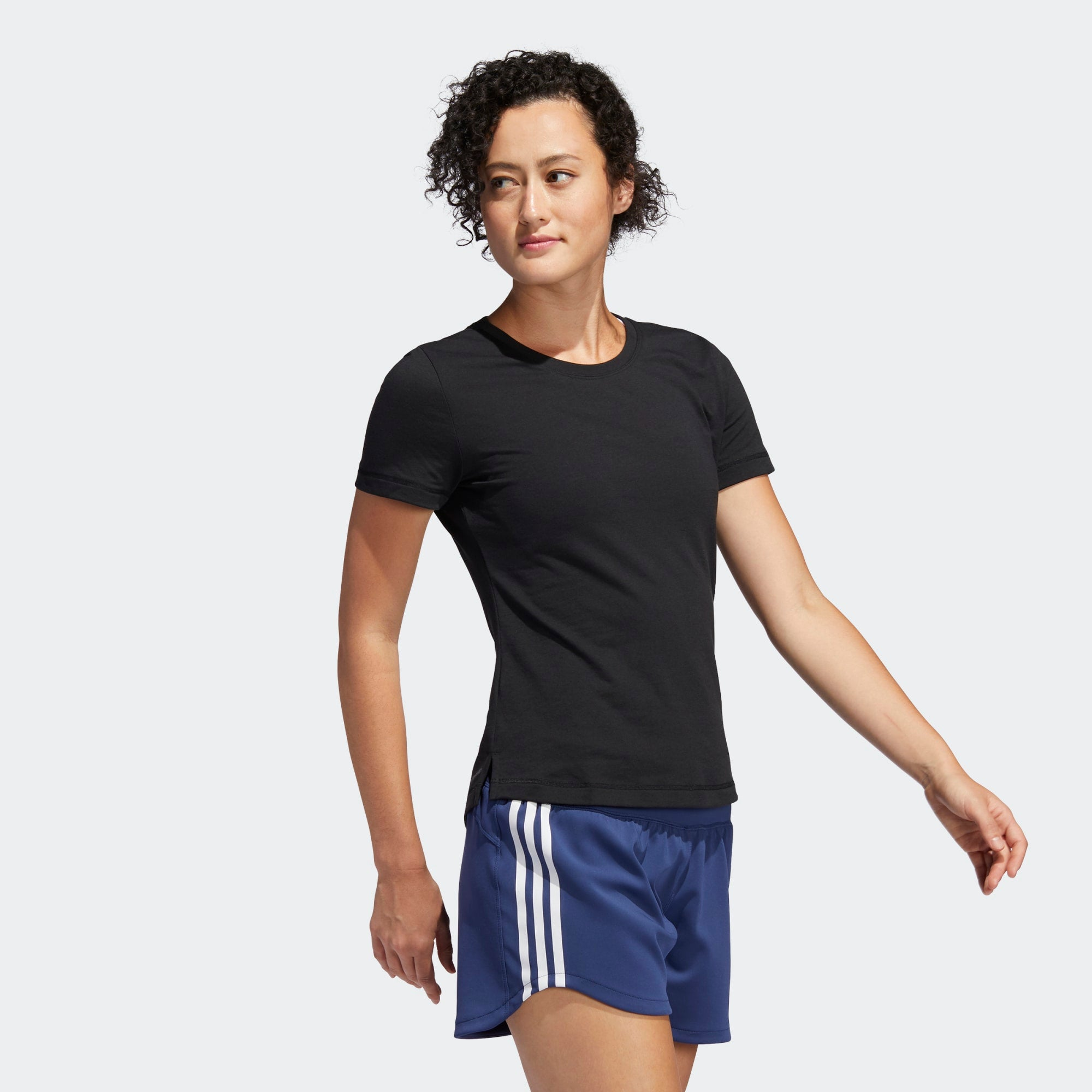 Adidas Womens Prime Tee - Black/White