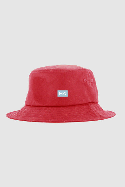 Huffer Bucket Hat/3 Ball - Red | Shop Huffer Online at Goals NZ