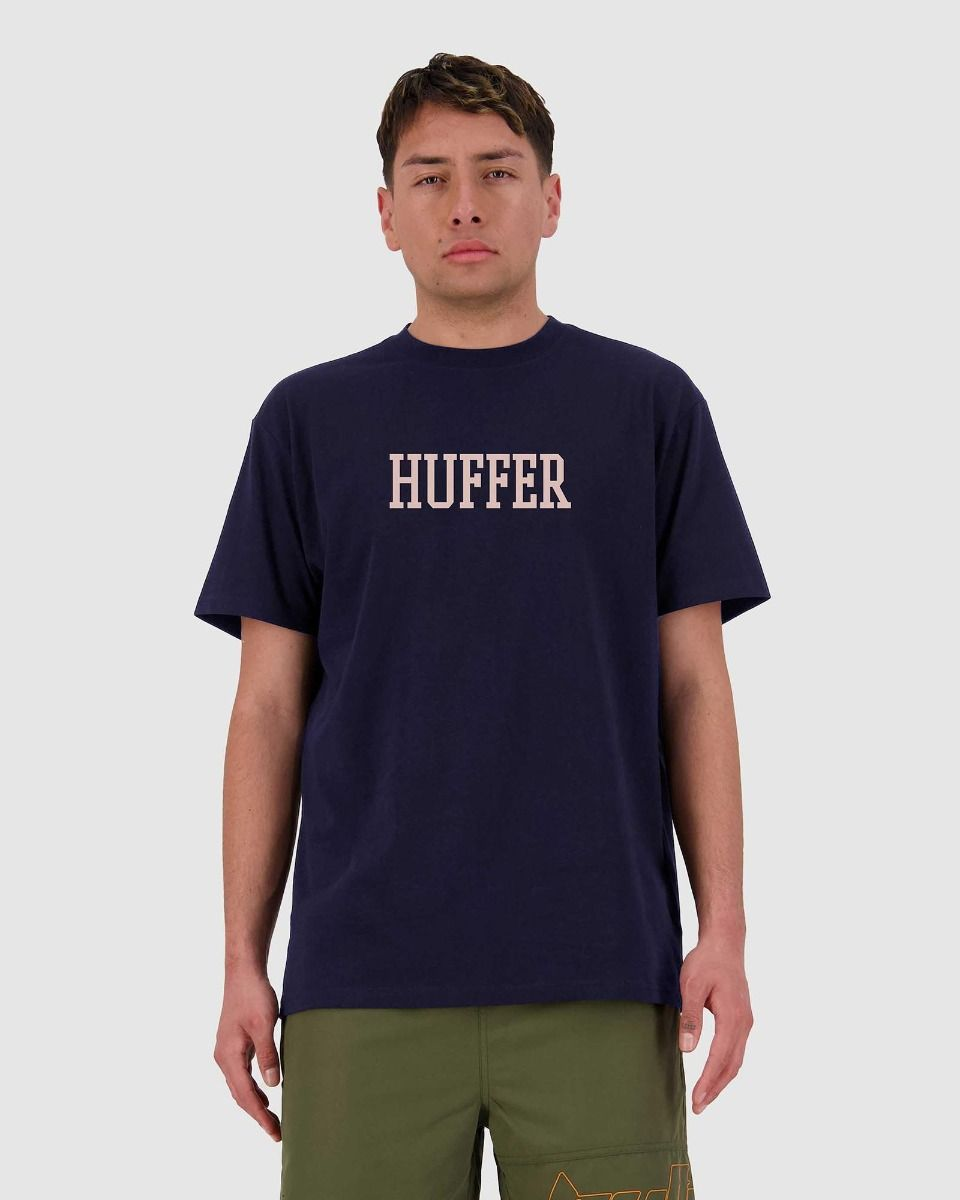 Huffer Mens Sup Tee/Match - Navy