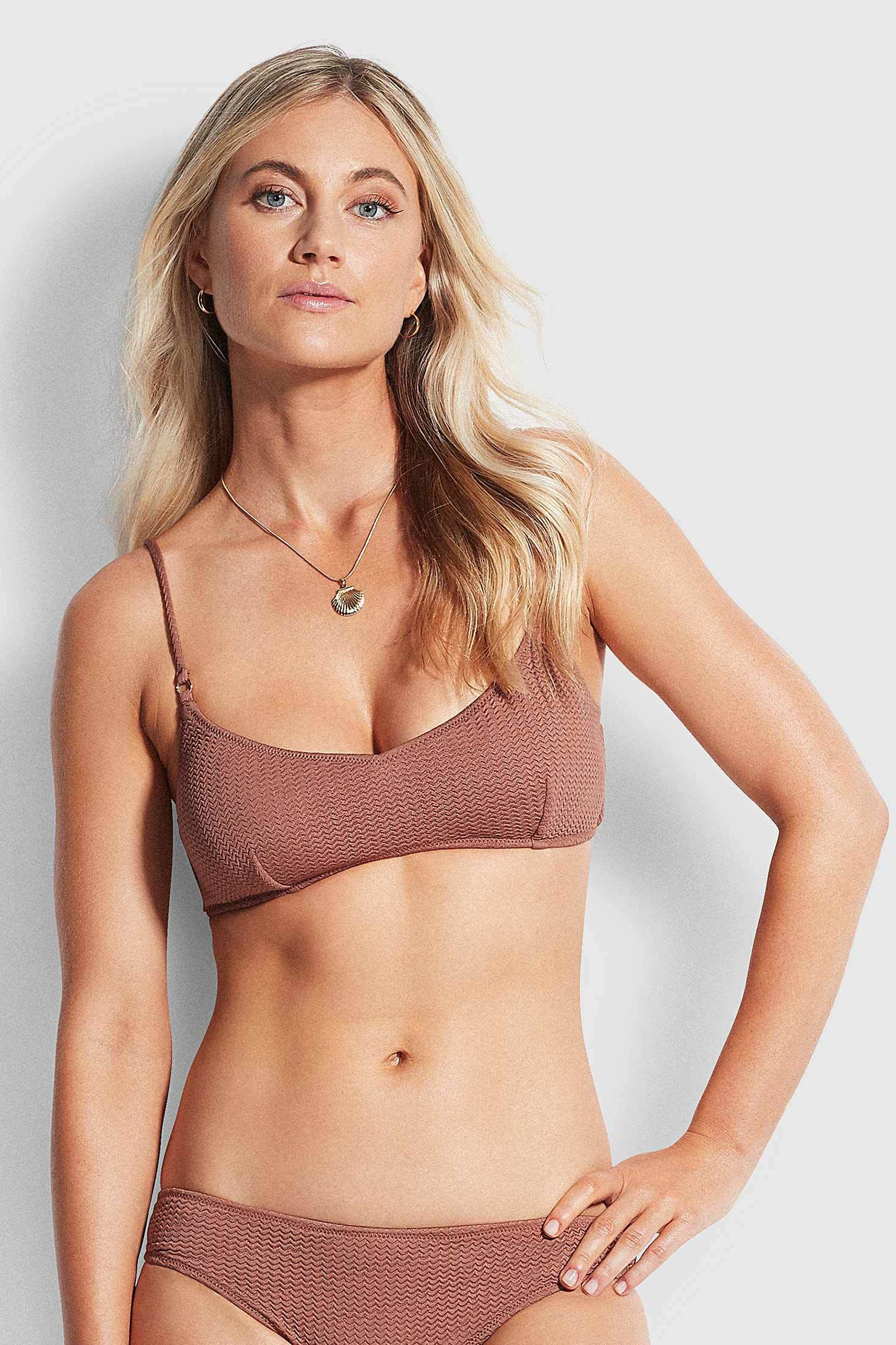 Seafolly Sea Dive Bralette - Bronze