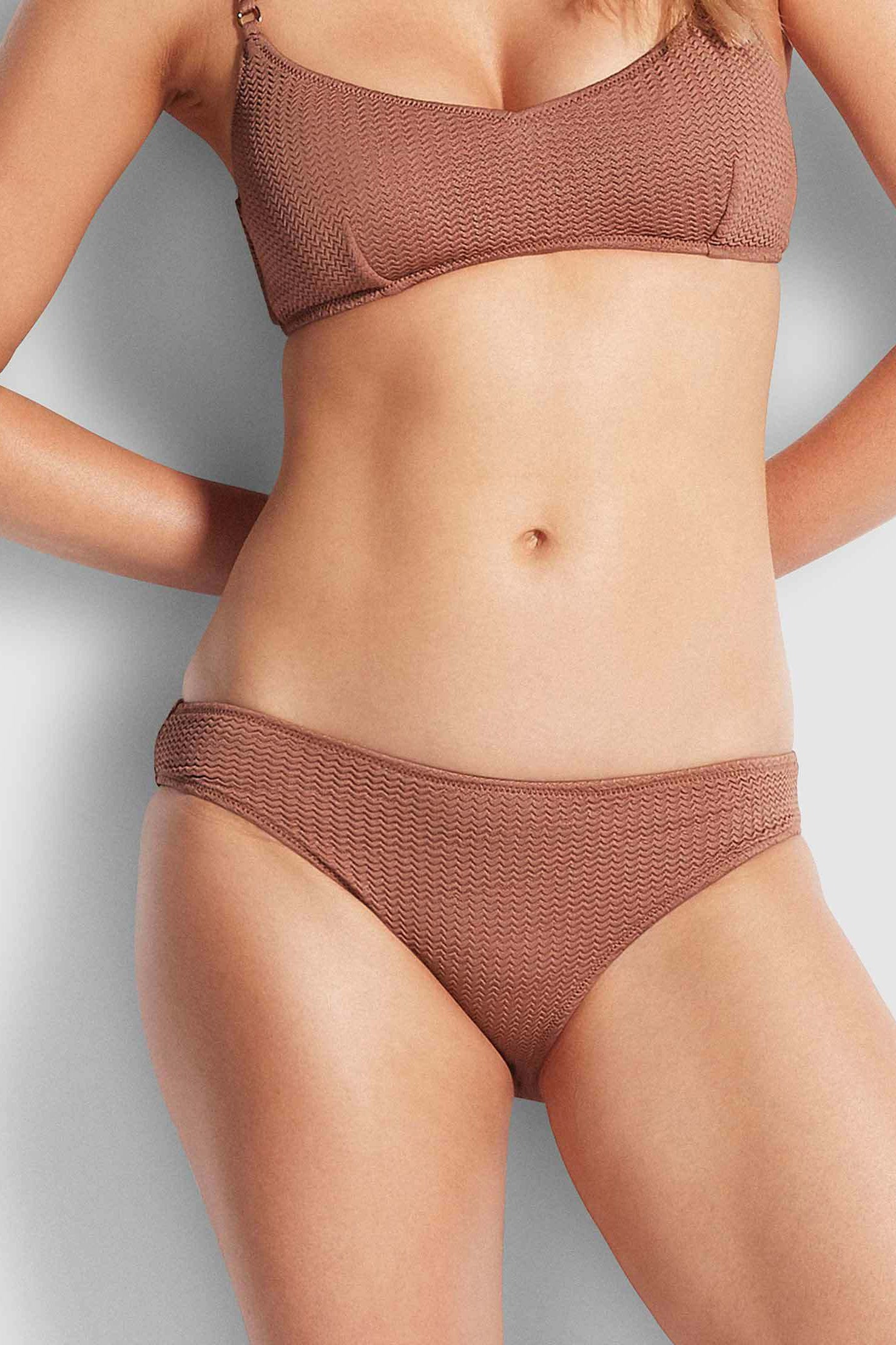 Seafolly Sea Dive Hipster Pant - Bronze