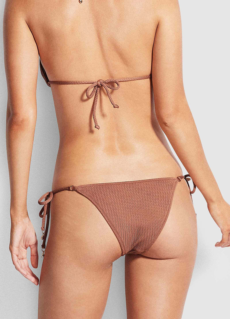 Seafolly Sea Dive Rio Pant - Bronze