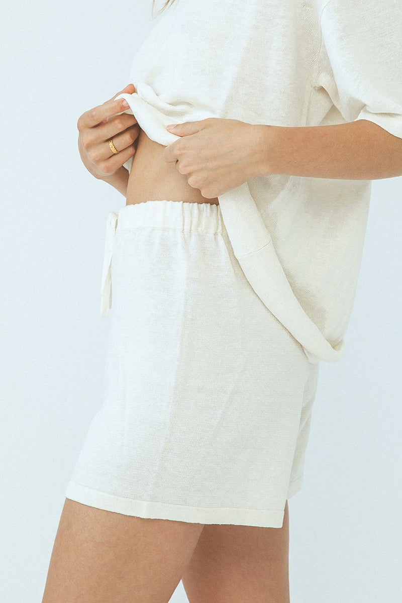 Arcaa Hugo Shorts - Cream