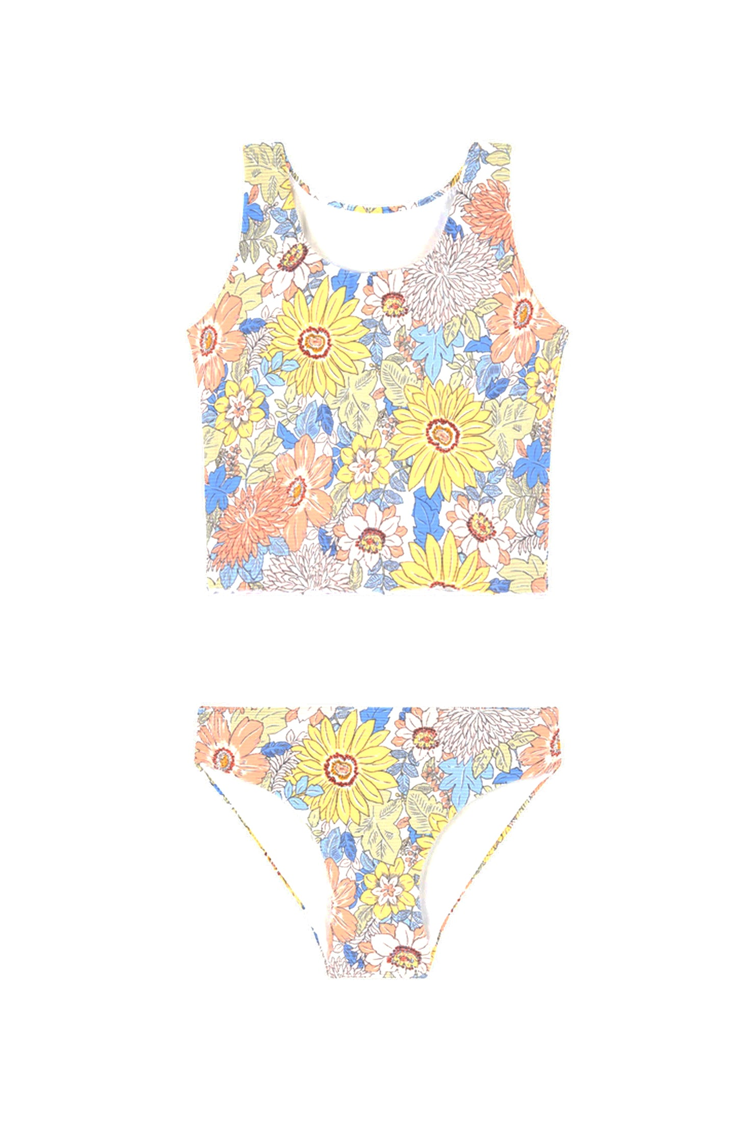 Seafolly Kids Sunshine Days Tankini - Multi