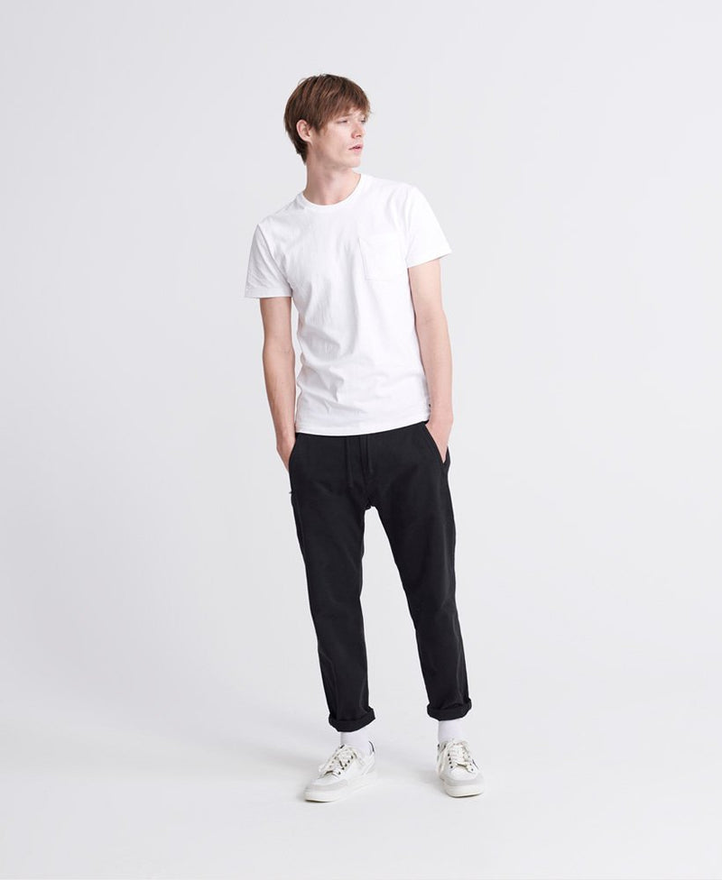 Superdry Denim Goods Co Pocket T-Shirt - Optic
