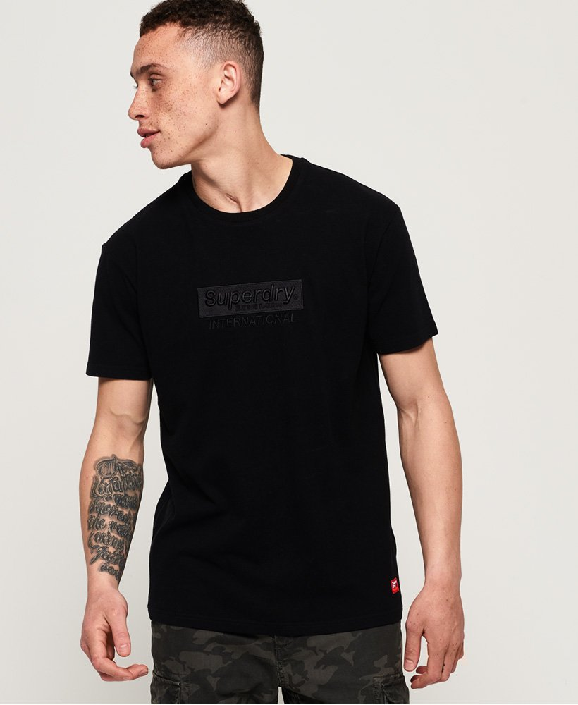 International Youth Box Fit T-Shirt - Black