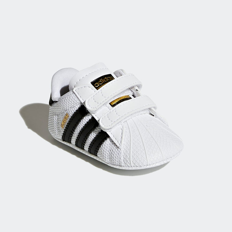 Infant Adidas Superstar Shoe - Black/White