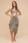 Miku Sarong - Natural | Tigerlily Swimwear online at GOALS