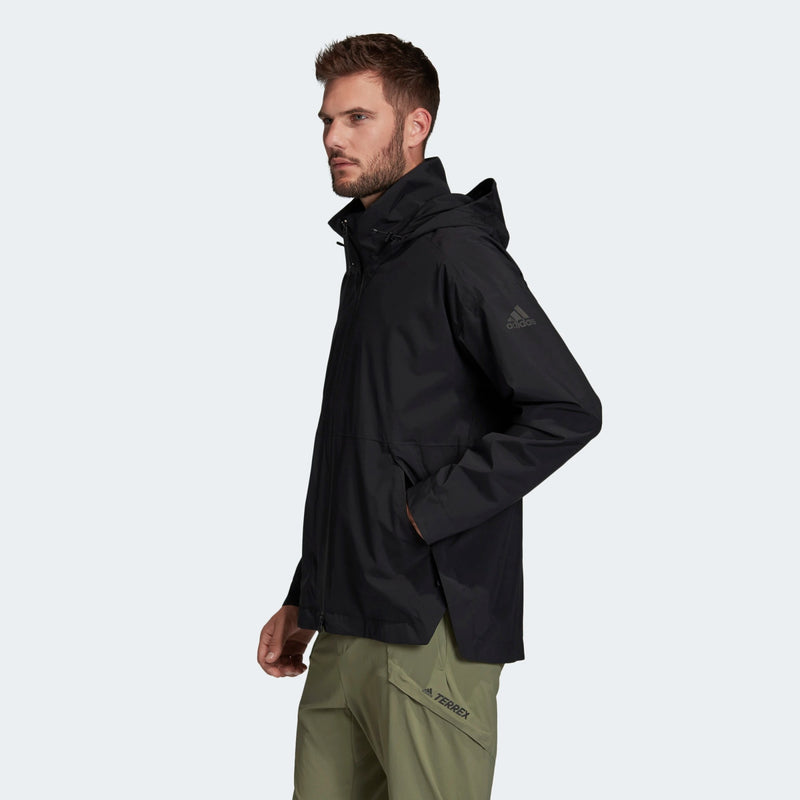 Adidas Mens Urban Rain Ready Jacket - Black