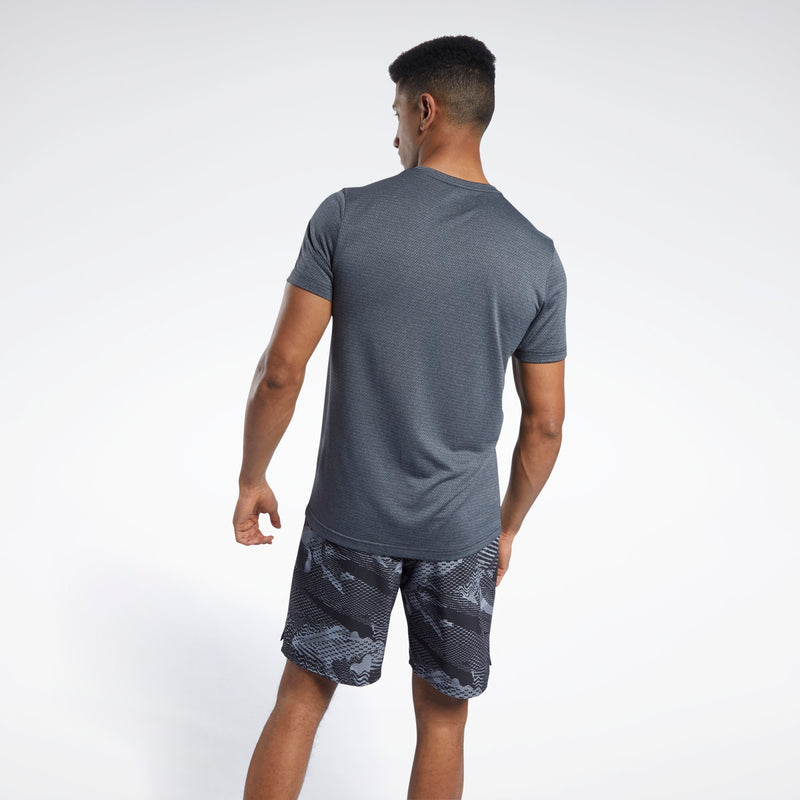 Adidas Mens Workout Ready Melange Tee | Shop Adidas at GOALS NZ