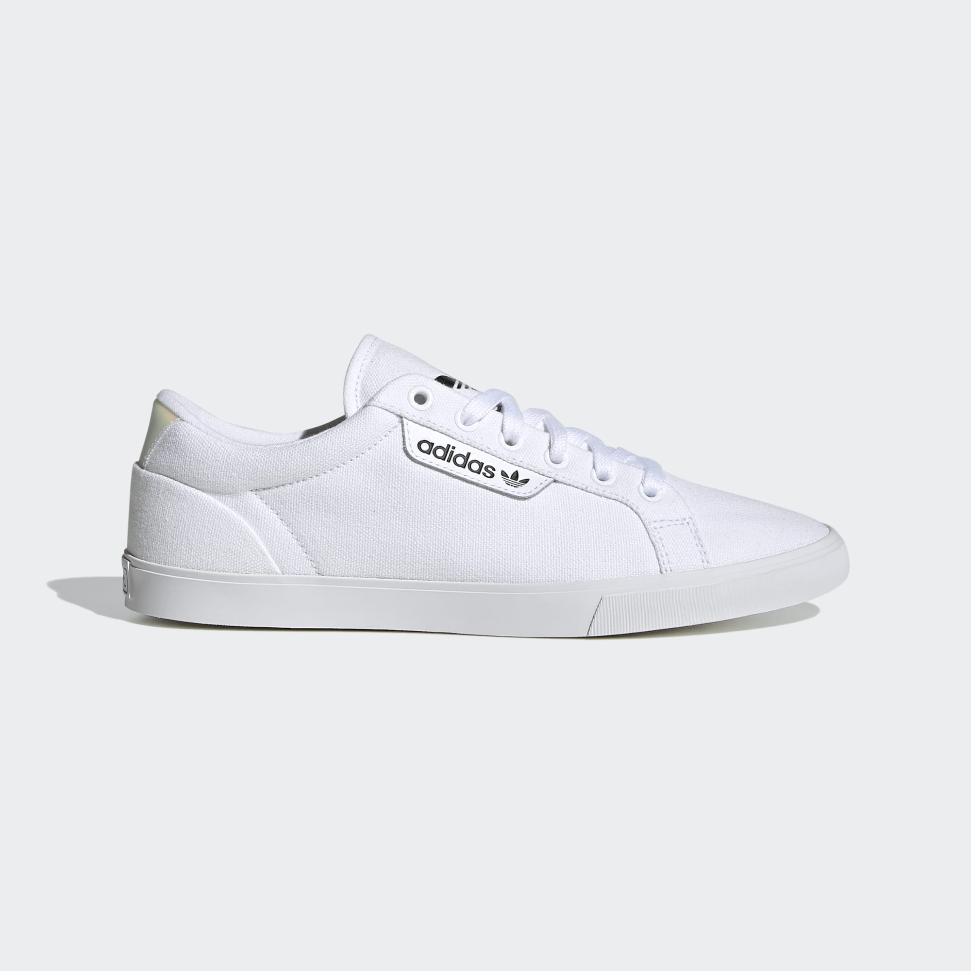 Adidas Womens Sleek Lo Shoe - White/Crystal White