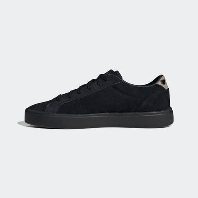 Adidas Sleek Shoes - Core Black/Core Black/Tech Olive